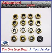 Genuine Subaru Impreza Turbo x 16 Rocker Cover Bolt Washer Seals Gaskets V5 - V9